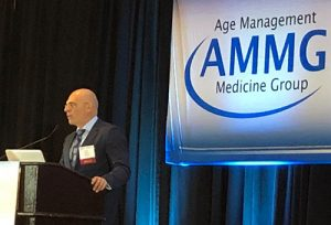 la XXVI Conferencia de la AMMG (Age Management Medicine Group).